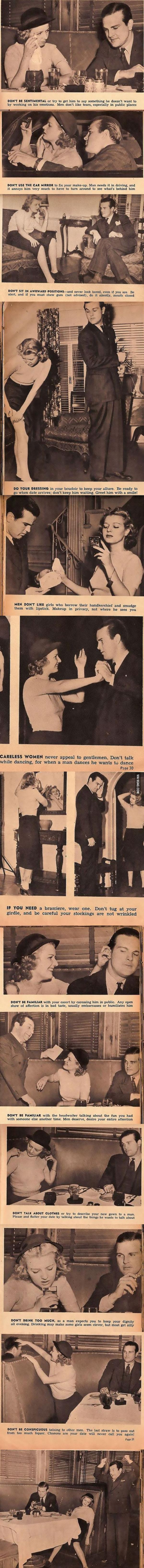 13 hilarious and sexist dating tips from 1938 - Copy