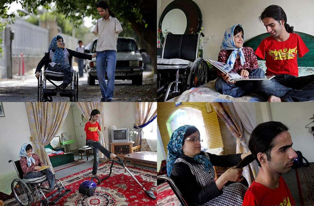 ahmad and fatima a married couple with disabilities