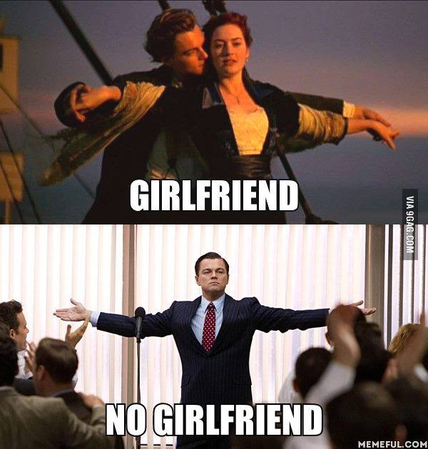 difference of a mans life with or without a girlfriend