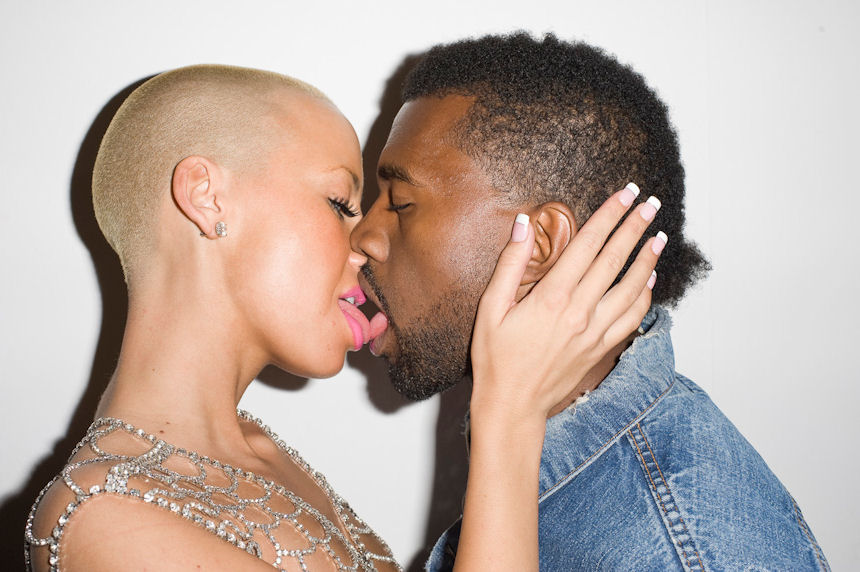 kanye-west-and-amber-rose-tongue-kiss