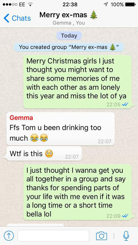 Man Group Texts Every Ex-Girlfriend He Cheated On And It Did Not Go