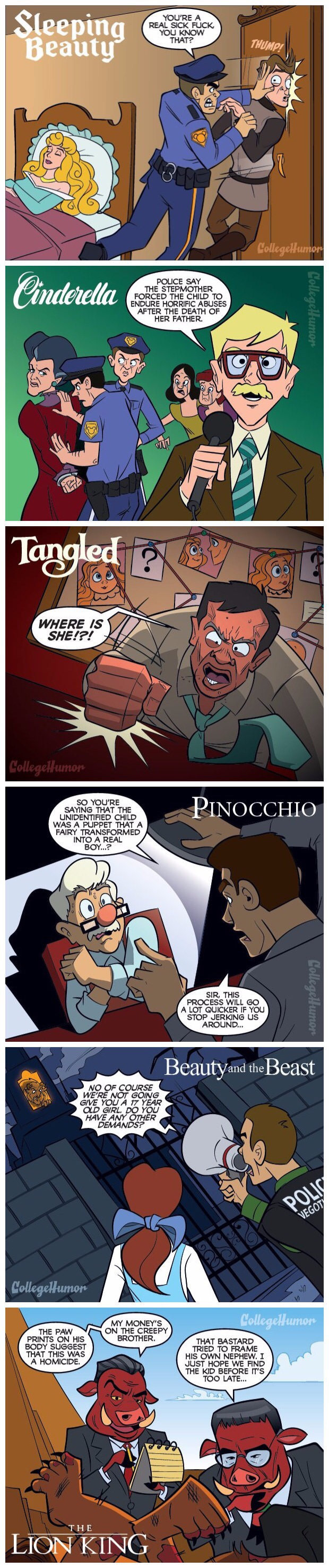 If cops were in disney movies - Copy